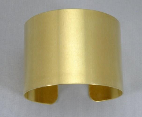 1 3/4 x 6 brass bracelet blank 20 gauge unfinished 1 dozen